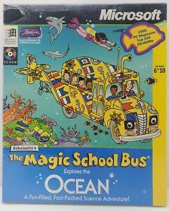 Scholastic's The Magic School Bus Explores Ocean (PC, 1996) CD-ROM Windows NOS