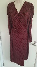 BNWT Marks & Spencer Collection Ladies Patterned Wrap Dress (UK 18) RRP £39.50