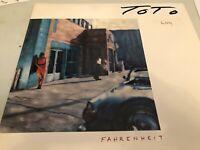 ToTo, Fahrenheit, Vinyl Album, Promotional Copy, 1986, CBS