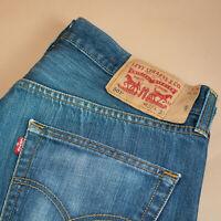 Vintage Levi 501 Jeans Blue Straight Button Fly Unisex (PatchW33L30) W 33 L 30