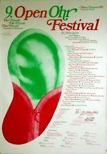 Open orecchio Festival 9 - 1983-concerto MANIFESTO-Kittner-Simonis-Alex Oriental