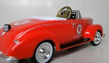 A Pedal Car 1930s Ford Vintage Classic Hot T Rod Red Star Midget Metal Model