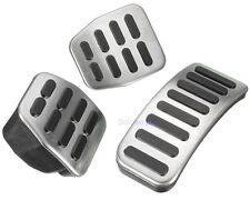 Stainless Steel MT Pedal Pads For VW Polo Jetta MK4 Bora Lavida Golf MK4 Fabia
