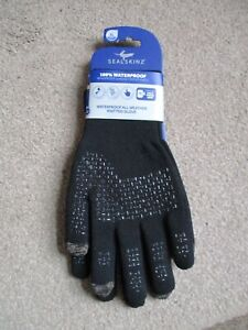 SealSkinz Waterproof All Weather Ultra Grip Knitted Gloves - Extra Large