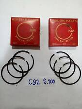 Honda 125cc C92 CA92 CB92  Piston Ring Set S4 100