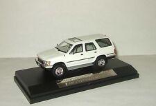 1:43 Hi Story Toyota Hilux Surf 4WD SSR-Ltd 1989 white HS041WH