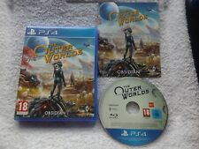 THE OUTER WORLDS PS4 PLAYSTATION 4 V.G.C. FAST POST ( first-person RPG game )