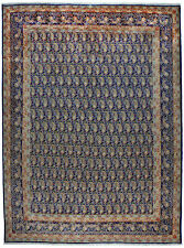 Rug / carpet hand knotted wool all over pattern Yazd ( 272 X 367 cm)