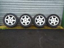 """MERCEDES R170 SLK Set of 16"""" Inch Wheels A1704011202 Goodyear 205/55R16"""