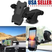 Universal Car 360° Windshield Mount Phone Holder GPS For iPhone Samsung S10 Plus