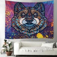 Tiger Tapestry Indian Mandala Hippie Macrame Tapestry Wall Hanging Tapestry