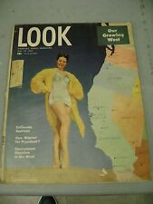 LOOK MAGAZINE MAY 27 1947 CALIFORNIA FASHIONS WARREN FOR PRESIDENT GROWING WEST