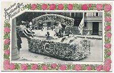 PORTLAND OR VINTAGE SOUVENIR POSTCARD - ROSE FESTIVAL PARADE