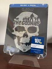 The Goonies Steelbook (Blu-ray/Digital, 1985) Factory Sealed
