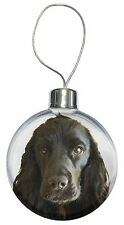 Black Cocker Spaniel Dog Christmas Tree Bauble Decoration Gift, AD-SC8CB