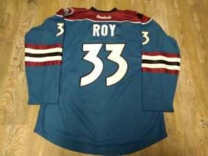 Colorado Avalanche #33 PATRICK ROY RBK Blue Alternate Jersey: Size 52 (XL)
