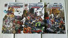 DW - Transformers: Armada #1-3   (2004) More Than Meets The Eye Guidebooks