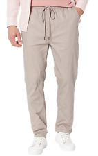 FAIRPLAY Runner Relaxed Classic Grey Men's Casual Pants Size 40 82637