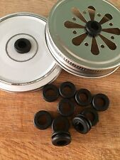 Rubber Grommets For Mason Kilner To Go Jar DIY Drinking Jar Replacement X10