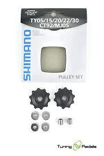 SHIMANO poulies Set - 2 pièces - 7/8 fois - y56398100
