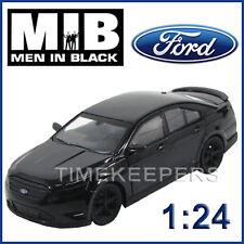 1:24 Greenlight 18211 2012 uomo Nero mib3 FORD TAURUS SHO DIE CAST MODELLO AUTO