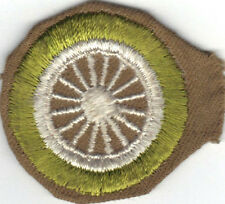 BOY SCOUT CYCLING SAND FINE TWILL MERIT BADGE (TYPE D) 1942-1946