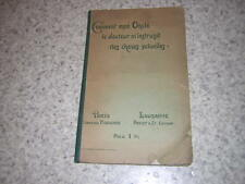 1907.Comment mon oncle docteur m'instruisit des choses sexuelles.Max Oker Blom