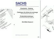 Hercules, Sachs Ersatzteile-Liste Elo-Bike Classic 3 D/ F/ NL  P004000080205000