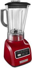KitchenAid 5-Speed blender RR-ksb650er 650 Series.9HP Shatter-Resistant Jar Red