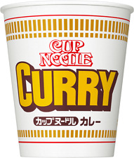 Japanese Nissin Cup Noodle Curry