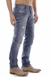 Diesel Men`s Jeans Size 33 KRAYVER Regular Slim-Carrot W33 L32
