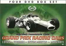 RACING THROUGH TIME GRAND PRIX CARS 4 DVD GIFT SET FERRARI ASTON MARTIN + MORE