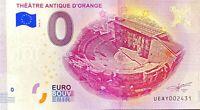 BILLET 0  EURO THEATRE ANTIQUE D'ORANGE  FRANCE 2018 NUMERO DIVERS