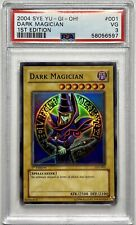 PSA 3 2004 Yugioh SYE Dark Magician 1st Edition