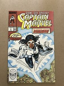 3 Comics: Captain Marvel Giant Size #1 (Monica Rambeau) Ghost Spider Lady Thor
