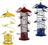 "12"" FINCH FEEDER natures market seed, peanuts & fatball kf garden bird feeding"