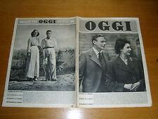 OGGI 1952/7=GINO ZANZOTTERA=GAETANO MARZOTTO=NINO BESOZZI=ELDA BASSI=GENTILINI F