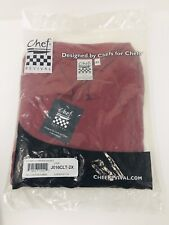 Chef Revival Chef Jacket Sz 2xl Red Long Sleeve Double Breasted New
