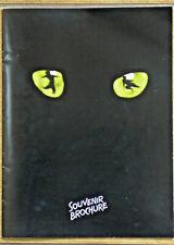 CATS - Theater Souvenir Brochure -  London, 1990