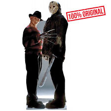 Freddy Krueger Jason Voorhees Freddy vs Jason Cardboard Cutout Standup Standee