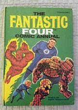 FANTASTIC FOUR COMIC ANNUAL, HARDCOVER, HC, WORLD DISTRIBUTORS, 1969
