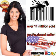 70 UPC Numbers Barcodes Bar Code GS1-issue EAN Amazon Lifetime Guarantee