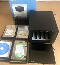 Synology DS412+ NAS Netzwerkspeicher Homeserver 6TB 3x2 TB Festplatten TOP !