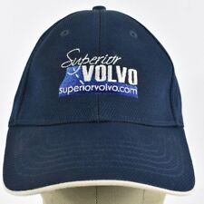 Navy Blue Superior Volvo Co Logo Embroidered Baseball hat cap Fitted