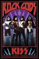 KISS - ROCK GODS POSTER - 24x36 - MUSIC 241363