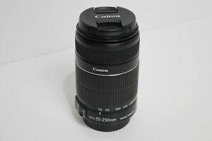 Canon EF-S 55-250mm F/4-5.6 IS II Lens Image Stabilizer Mk II