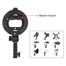 Godox S-Type Bracket Bowens Mount Holder for Speedlite Flash Snoot Softbox SH