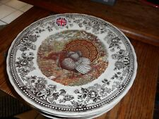 New Queens Quintessential Game Turkey Dinner Plate Made In England