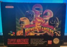 Power Rangers Super Nintendo SNES BOXED PAL UK **FREE UK POSTAGE**