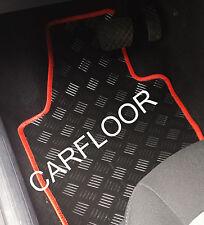 VW Lupo 01-02 Gummi Matten Gummifußmatten rote Einf.